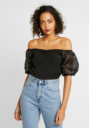 OFF SHOULDER - Blůza - black