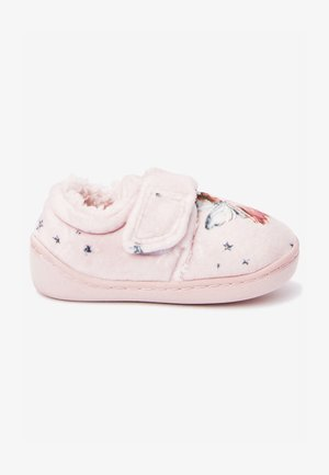 First shoes - mottled pink
