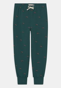 TINYCOTTONS - UNISEX - Tracksuit bottoms - stormy blue/ink blue - 0