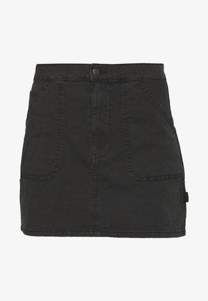 KASHA UTILITY MINI SKIRT - Minijupe - black