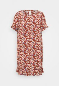 ONLY Carmakoma - CARLANA KNEE DRESS - Day dress - ginger bread - 0