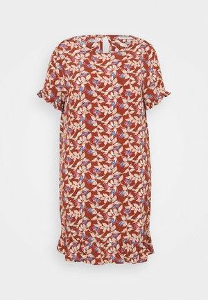 CARLANA KNEE DRESS - Robe d'été - ginger bread