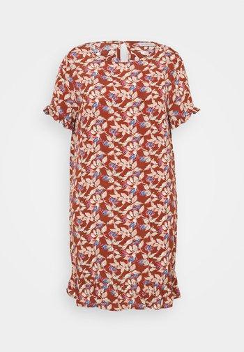 CARLANA KNEE DRESS - Day dress - ginger bread