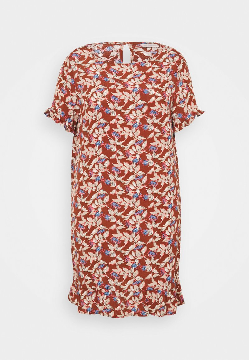ONLY Carmakoma - CARLANA KNEE DRESS - Day dress - ginger bread