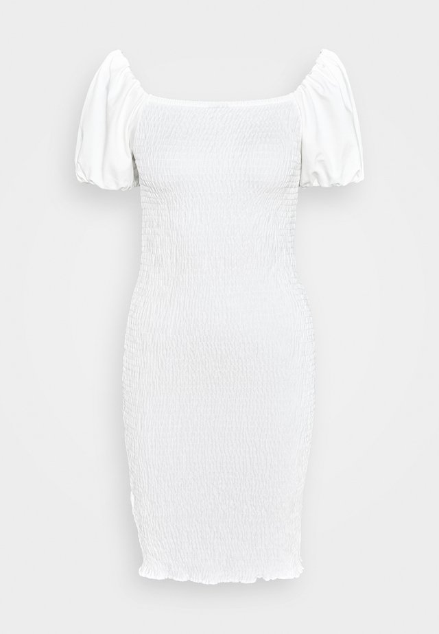 NELMA SMOCK DRESS - Vestido de tubo - off white