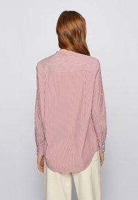 BOSS - BEFELIZE - Button-down blouse - red - 2