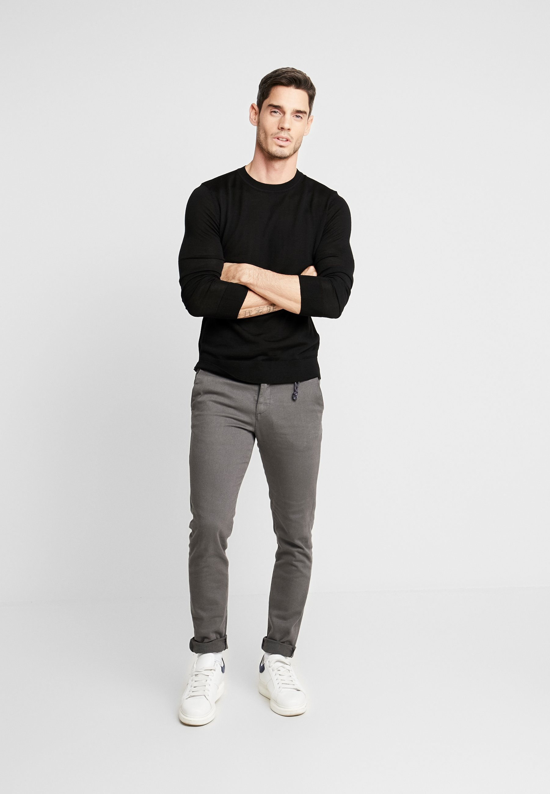 Samsøe Samsøe FLEMMING CREW NECK - Pullover - black