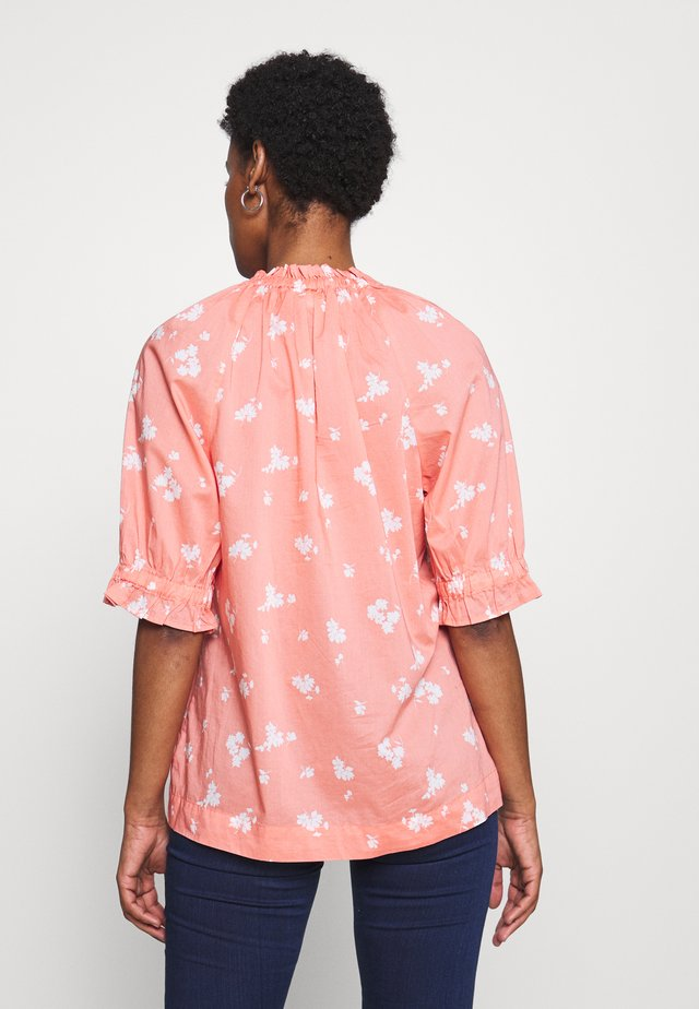 TOP TALL - Blouse - milk peach floral