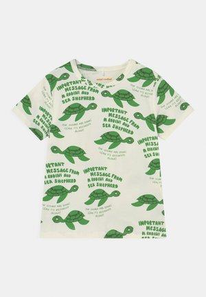 TURTLE TEE UNISEX - T-shirt imprimé - green