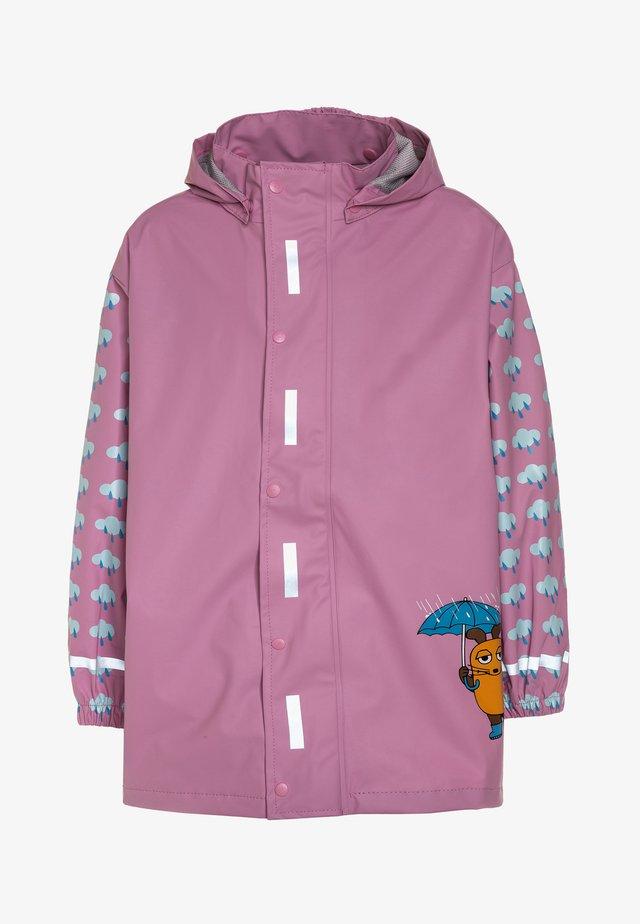 Vodotěsná bunda - rosa
