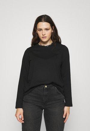 PCRIA SOLID TEE 2 PACK  - Long sleeved top - black