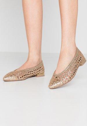 Ballerina's - gold
