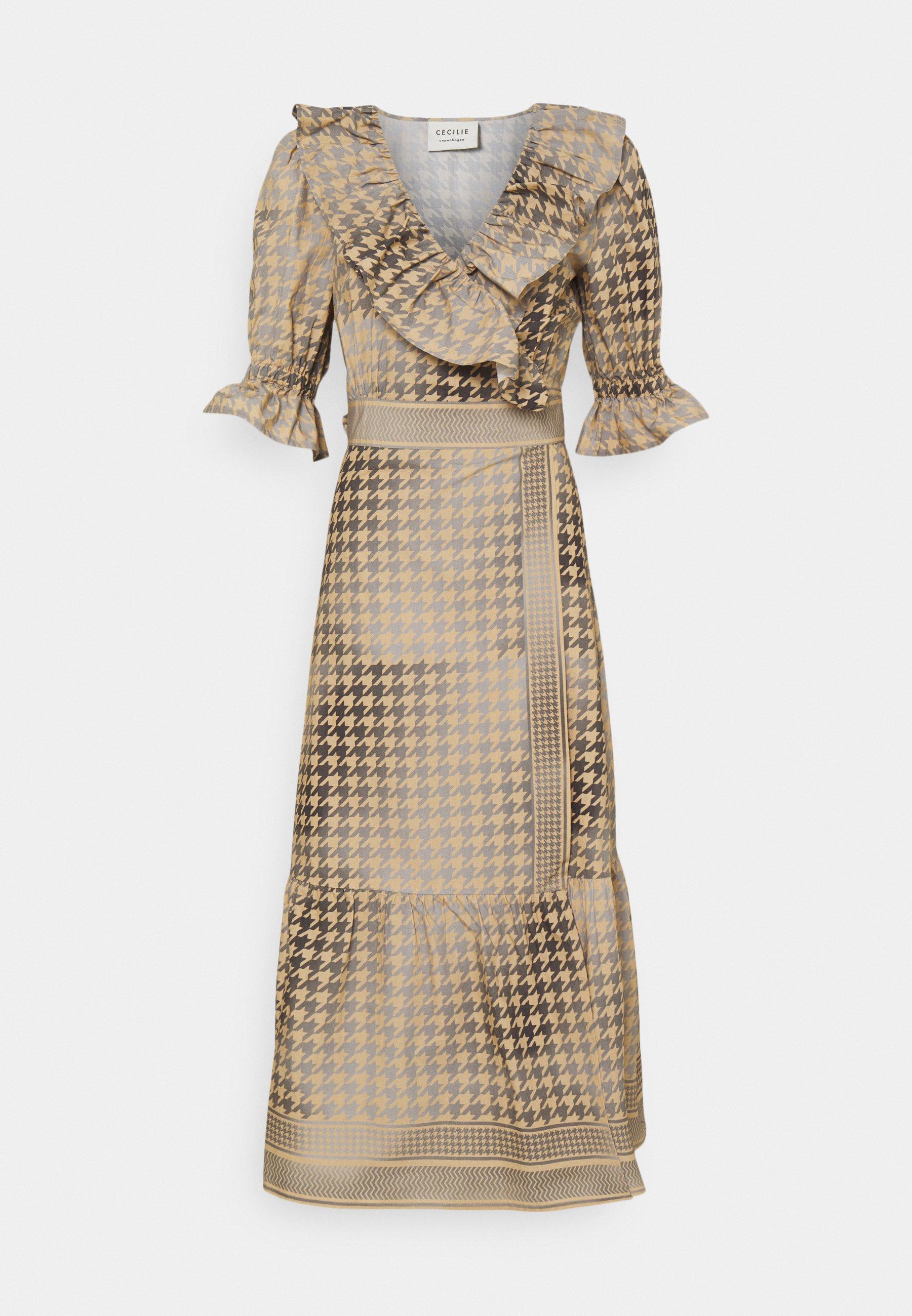 Femme RUBY WRAP DRESS - Robe de soirée