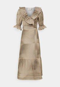 CECILIE copenhagen - RUBY WRAP DRESS - Cocktail dress / Party dress - frost grey - 0