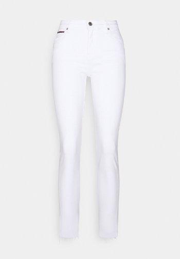 NORA ANKLE - Jeans Skinny Fit - white denim