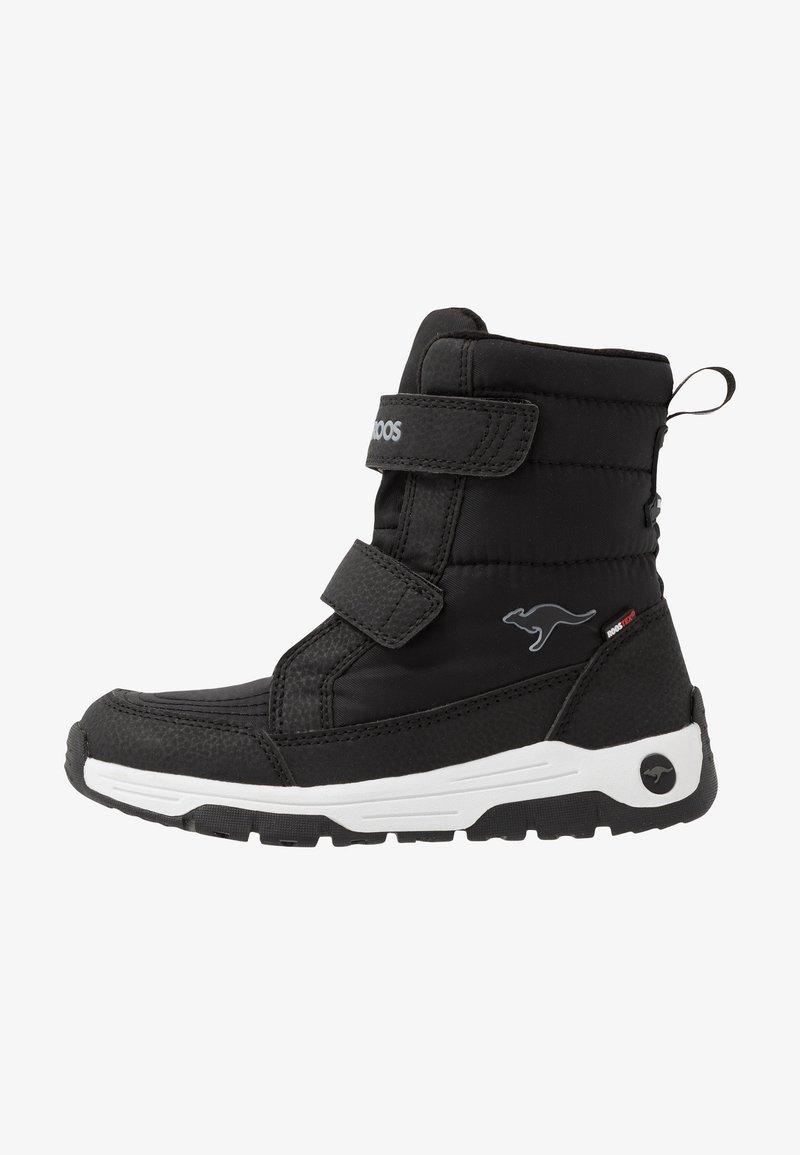 KangaROOS - K-MAJOR V RTX - Boots - jet black/steel grey