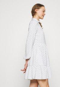 Closet - HIGH COLLAR MINI DRESS - Day dress - ivory - 4
