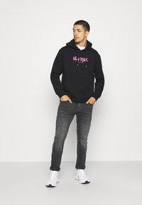 Nominal - NEW YORK HOOD - Sweater - black - 1