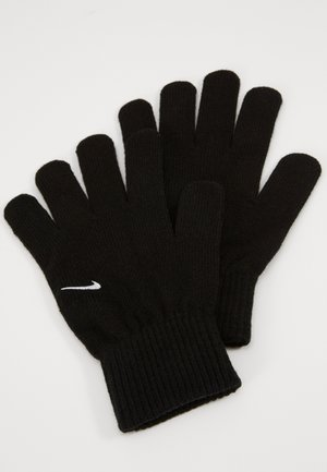 GLOVES UNISEX - Fingerhandschuh - black/white