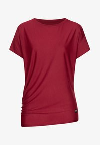 super.natural - YOGA - Print T-shirt - rubinrot - 1