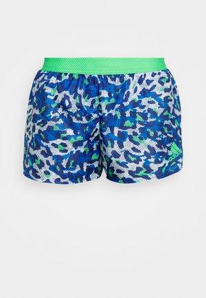 ADIZERO SPLIT - Sports shorts - bold blue/semi screaming green
