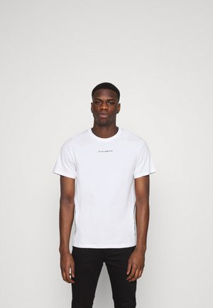 SPORT A TAPE  - Print T-shirt - white