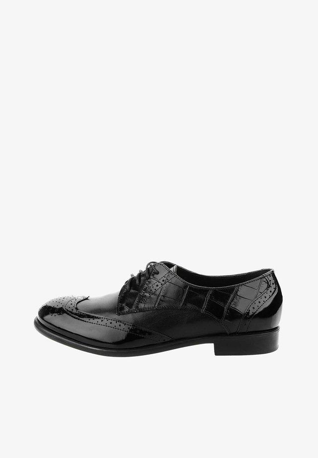 MACERETO  - Šněrovací boty - black