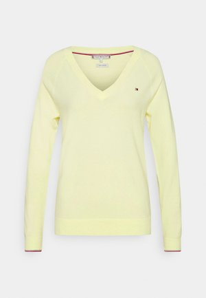VNECK - Pullover - frosted lemon