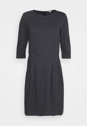 DRESS - Strikket kjole - grey blue