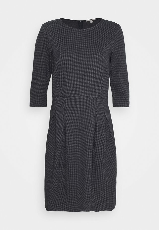 DRESS - Jumper dress - grey blue