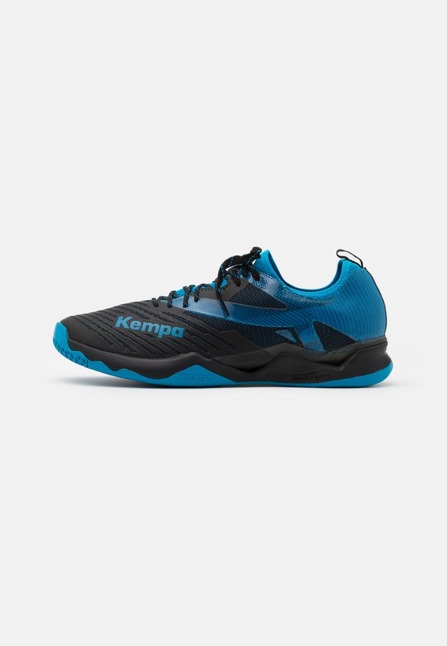 WING LITE 2.0 EDITION - Håndboldsko - black/blue
