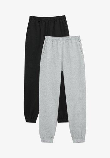 2 PACK - Pantaloni sportivi - mottled grey