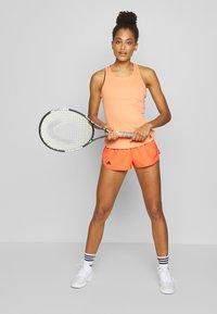 adidas Performance - CLUB SHORT - Sports shorts - apricot - 1