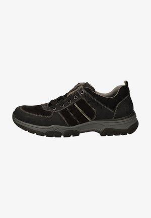 Sznurowane obuwie sportowe - schwarz/polvere