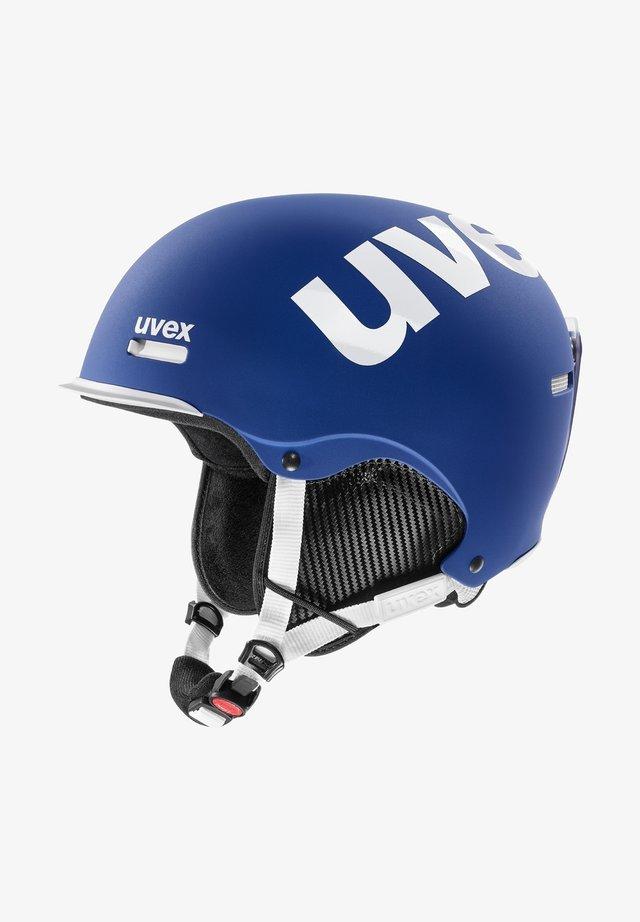 Helmet - cobalt-white mat