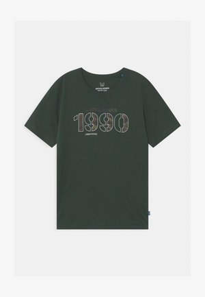 JCOCAMO CREWNECK - Print T-shirt - darkest spruce