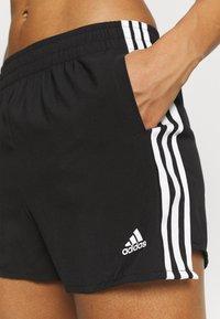adidas Performance - Sports shorts - black/white - 3