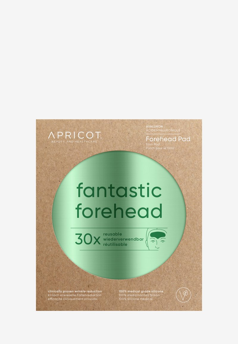 APRICOT - FOREHEAD PAD WITH HYALURON - Anti-Aging - -