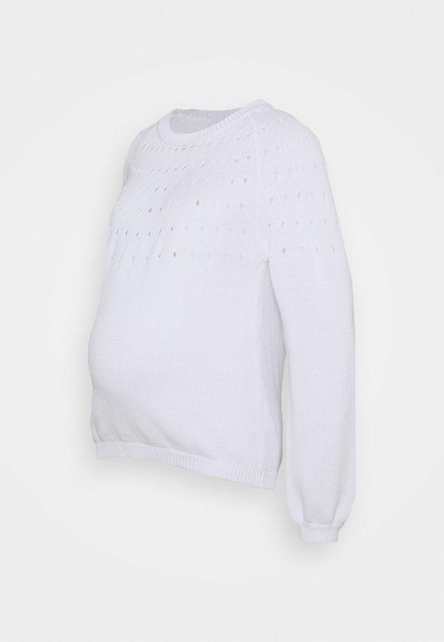 PCMPERNILLA O NECK - Maglione - bright white