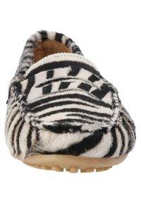 ONEPAIR - Slip-ons - zebra black - 6