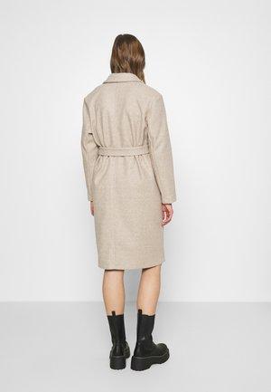 Classic coat - humus/melange