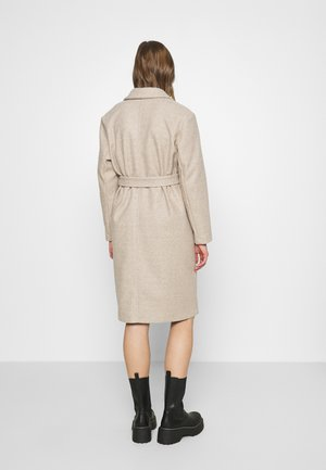Zimní kabát - humus/melange