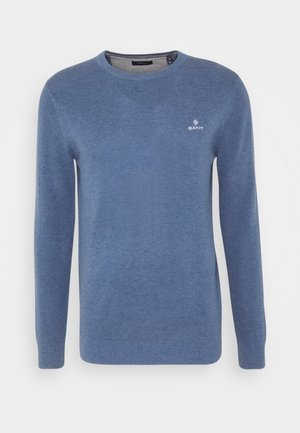 C-NECK - Pullover - denim blue