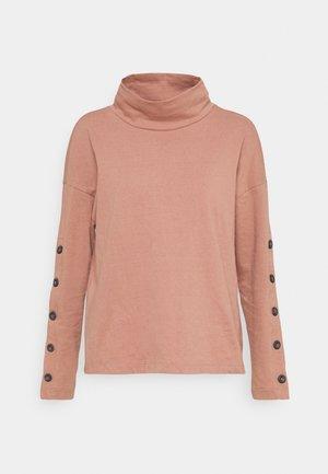 TIMES SQUARE TURTLENECK - Sweatshirt - faded rosebud