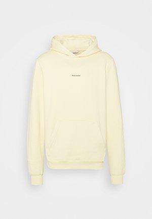 FLEEK HOODIE - Sweatshirt - light yellow