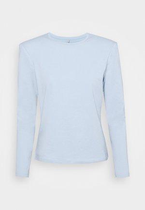 ONLTANJA LIFE O NECK - Pitkähihainen paita - cashmere blue