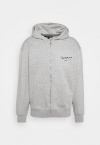 Mennace - SEASON ZIP THROUGH HOODIE - Zip-up hoodie - grey - 4