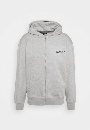 SEASON ZIP THROUGH HOODIE - Zip-up hoodie - grey