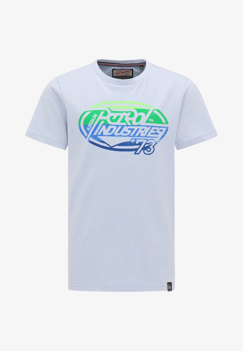 Petrol Industries - Camiseta estampada - blue stone