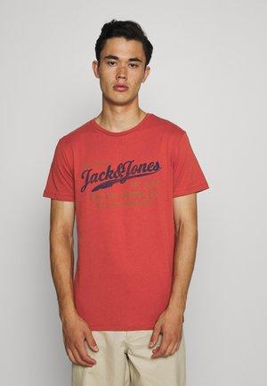 JPRBLUBILLY TEE CREW NECK - Print T-shirt - bossa nova